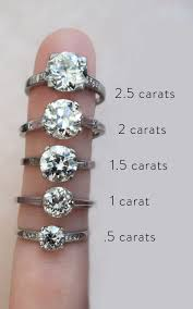 1 carat diamond size actual diamond carat size on a hand real life engagement and ring