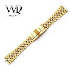 <b>Rolamy 20</b> 22mm <b>Watch Band</b> Strap For Glide Lock Replacement ...