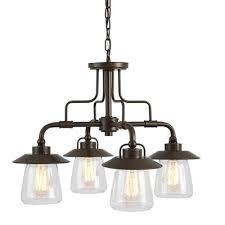 allen roth bristow 4 light chandelier