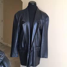 vintage sea dream leather jacket