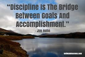 is the bridge between goals and accomplishment discipline is the bridge between goals and accomplishment