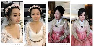 rates sgd350 for rom makeup to sgd950 for 3 makeup looks and hairstyling on actual wedding day contact no 65 8138 3952