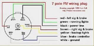 7 pin flat trailer wiring diagram images ribbon rv trailer plug wiring diagram 7 pin flat rv