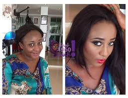 from drab to fab ini edo gets amazing makeup transformation by lynx s sister that1960