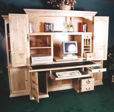 Computer armoire desk Office Computer Armoire Desk Pinterest Computer Armoire Desk For The Home Computer Armoire Desk Armoire