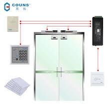 高优 couns k05c new access control system complete set electric plug lock magnetic lock glass door wooden door fire door electronic access control card