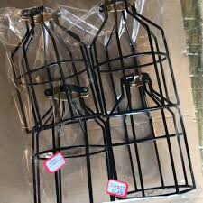 loft industrial iron cage. Loft Industrial Iron Cage. Metal Frame Ceiling Pendant Hanging Light Lampshade Cage Fixture O