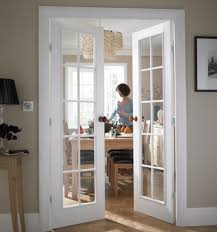 interior french doors with clear glass
