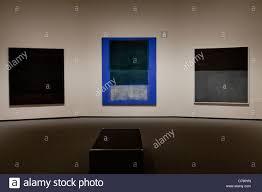 mark rothko paintings on display smithsonian national gallery of art washington dc usa