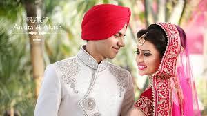 sikh wedding highlight ankita akash chandigarh aj frames