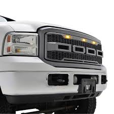 05-07 Ford F250/F350 Raptor-Style Packaged Grille