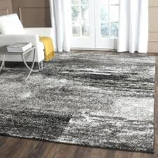 modern abstract silver black large area rug big lots