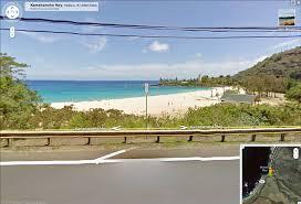google maps street view comes to hawaii urban archaeology waimea beach is looking photogenic as ever
