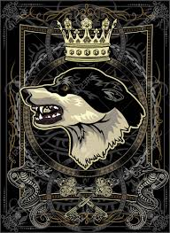 Wolf Head With Crown Tattoo Design