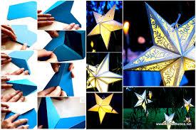 Diy Paper Lanterns Mindblowingly Beautiful Star Shaped Diy Paper Lanterns That Will