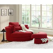 red accent chairs for living room. Turner Cuddler Swivel Chair With Storage Ottoman Red Accent Chairs For Living Room E