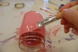 Decorate Glass Jar A stepbystep to decorate glass jars using Ceramic paint 51