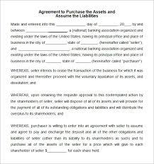 sample asset purchase agreement