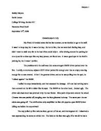 narrative essay university miscellaneous marked by teachers com page 1 zoom in