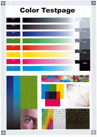 Small Picture Color test page for image scanners and printers Does your