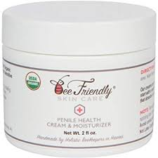 Amazon.com: Organic Penile Health Cream By BeeFriendly, USDA ...