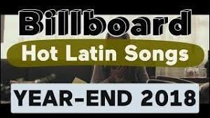 Top 100 Latin Charts Billboard Top 100 Best Latin Songs Of 2018 Year End Chart