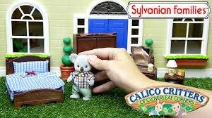 Parent Bedroom Sylvanian Families Calico Critters Parent Bedroom Bear Family Set