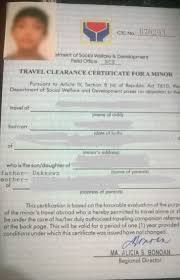Dswd Travel Clearance Required Documents Solo Parents Writedge