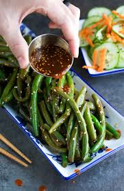 green bean recipe. Interesting Bean Spicy Sriracha Green Beans Intended Bean Recipe E