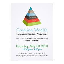 Investment Pyramid Chart Investment Pyramid Chart Financial Invitation Zazzle Com