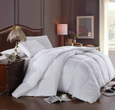 com super oversized soft and fluffy goose down alternative comforter fits pillow top beds queen 92 x 98 high quality 100 percent cotton