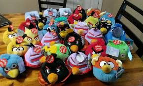 Angry birds rio space talking plush toy, new with tags claw ...