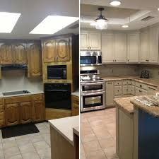 drop lighting for kitchen. Before And After For Updating Drop Ceiling Kitchen Fluorescent Lighting