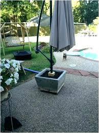 offset patio umbrella base weights with stand umbrell umbrella offset stand