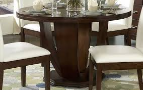 dimension dining round set seater ashley seats modern oak for white diameter pedestal measurements furniture room