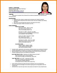 Updated Resume Inspiration 4118 Updated Resume Examples Best Most Recent Resume Sample For Your