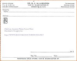 Kaiser Fake Doctors Note 011 Kaiser Permanente Doctors Notete Best Of Blank