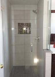seilings floors bathroom shower with niche renovation kitchener