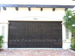 painting garage doors how to paint your