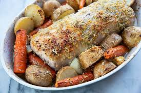 Pork Loin Roasting Chart Buttery Garlic Rosemary Pork Loin Roast Recipe