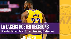 Los Angeles Lakers Roster After Kawhi Leonard Free Agency