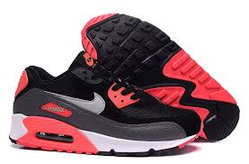 nike running shoes 2016 red. 2016 authentic nike running shoes air max 90 uk womens black red grey online