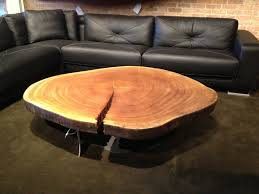 base wood tree trunk coffee table tree stump excellent