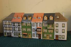 free ho scale paper building models