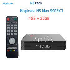 Giá Tv Box Magicsee N5 Max & Khuyến mãi tháng 10/2021