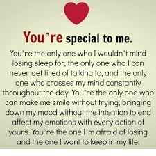 You Are Special For Me Pic