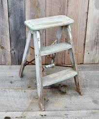 small wood step ladder vintage weathered wood step ladder small by small wooden step ladder small wooden step ladder uk