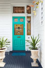 The peppy palette is a smart alternative for a homeowner who is tired of a black or taupe door, says georgia landscape. Your Front Door Color Reveals More About You Than You D Think