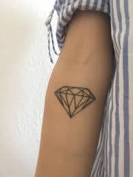 Diamond Tattoo Diamond Diamant Tattoo Tatouage Geometric