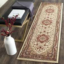 amazing red runner rug and ivory red runner rug 26 solid red runner rug